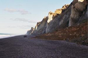 Lansdowne Farm - beach cliffs